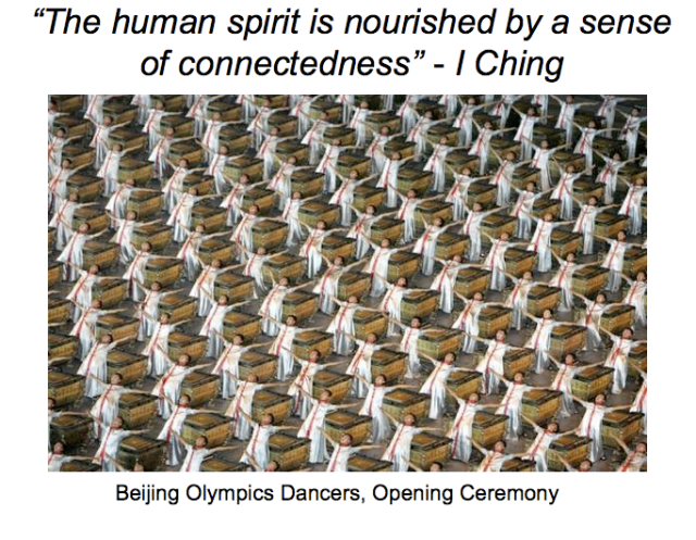 The power and beauty of communitas: moving together in synchrony, as one.