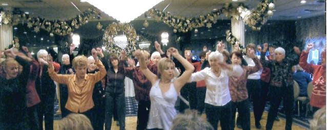 Elaine O'Brien Dancers perform at the Breakers Hotel, Spring Lake, NJ, 12/13/12